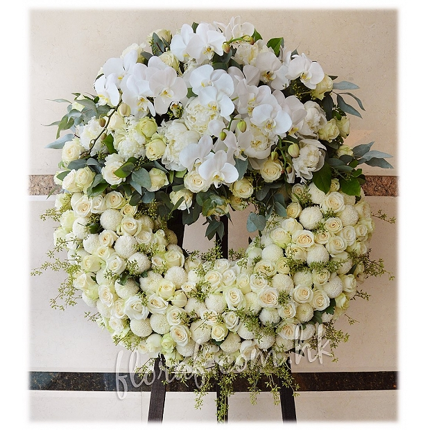 Funeral Flower Wreath Stand