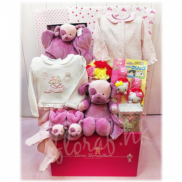 B177  西班牙 Mayoral + 美國 Gund + 日本 Hello Kitty - Flora F